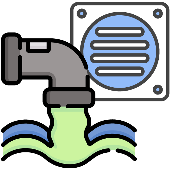 Sewage Faucet Icon